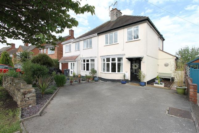 Thumbnail Semi-detached house for sale in Ashgate Avenue, Ashgate, Chesterfield