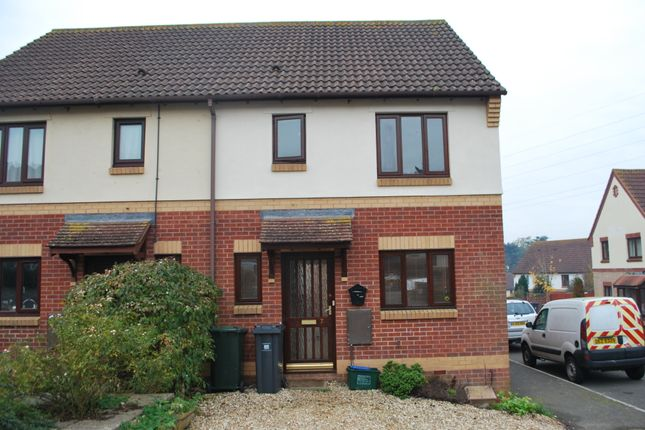 Thumbnail Semi-detached house to rent in Wordsworth Close, Exmouth