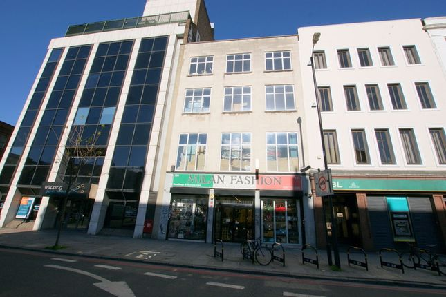 Thumbnail Warehouse to let in Commercial Road, London
