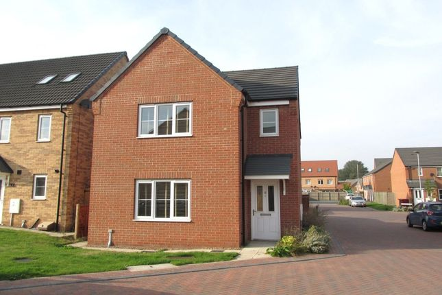 Thumbnail Detached house for sale in Plover Way, Scunthorpe