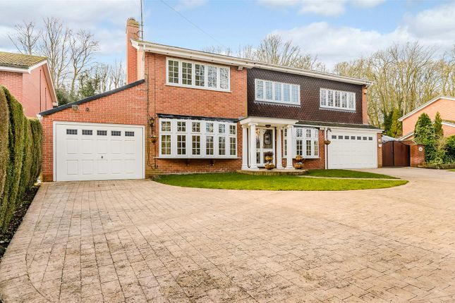 Thumbnail Detached house for sale in Brookside Road, Breadsall, Derby