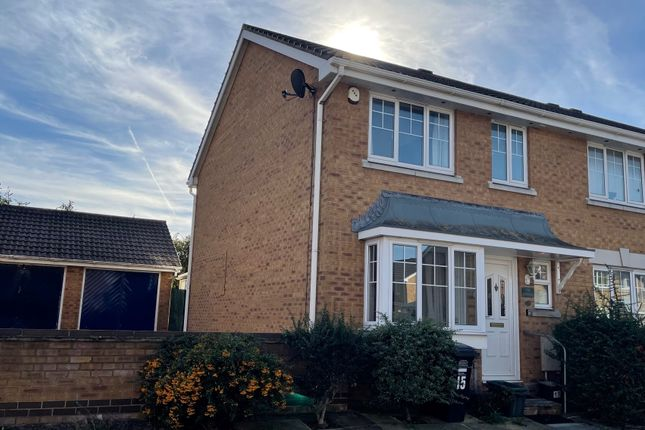 Thumbnail End terrace house to rent in Wyvern Close, Weston-Super-Mare
