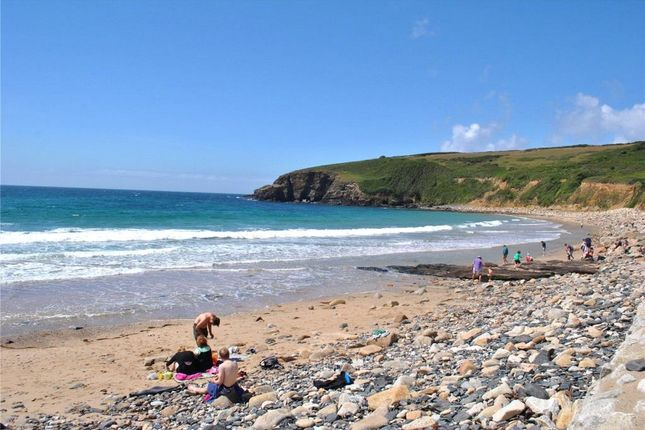 Nearby Beach of Praa Sands Holiday Park, Penzance, Cornwall TR20