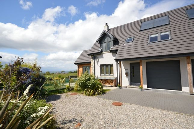Thumbnail Semi-detached house for sale in Croy, Inverness