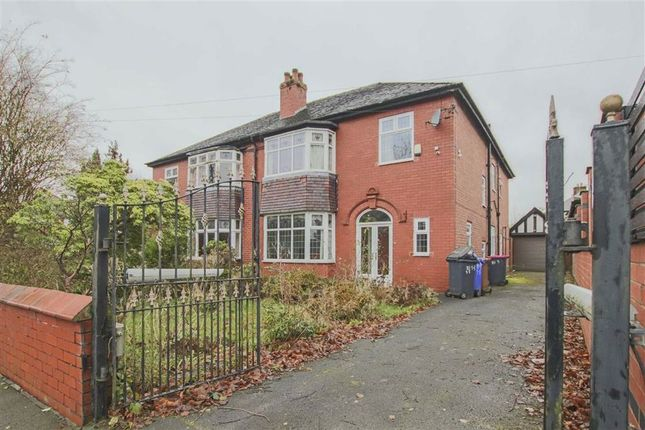 Thumbnail Semi-detached house for sale in Manor Road, Salford