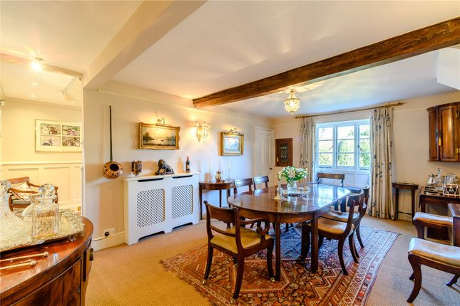 Dining Room of Litchborough, Towcester, Northamptonshire NN12