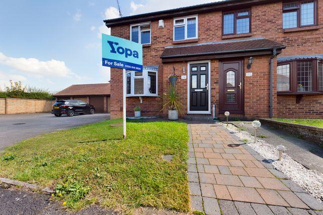 2 bed semi-detached house for sale in Campion Close, Northfleet, Gravesend DA11