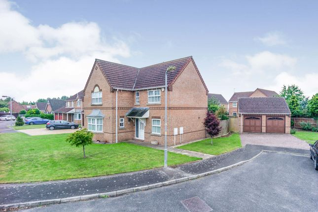 Thumbnail Detached house for sale in St. Lamberts Grove, Weston, Spalding