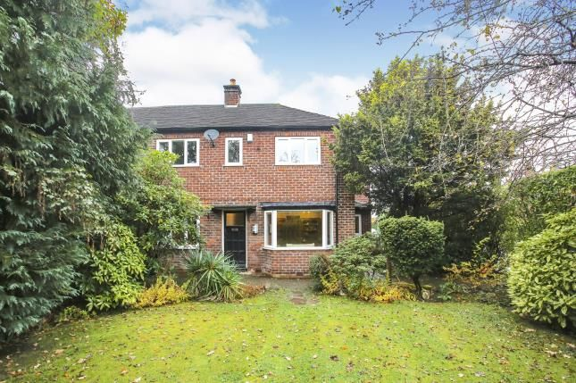 Thumbnail Semi-detached house for sale in The Circuit, Alderley Edge, Cheshire, Uk