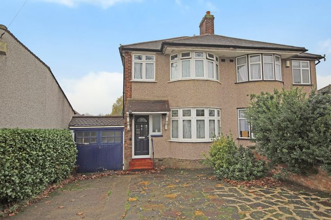 Thumbnail Semi-detached house for sale in Lingfield Crescent, Falconwood, London