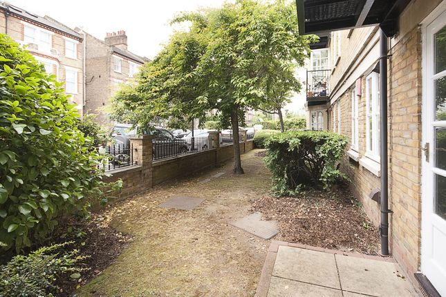 Patio of Sycamore Mews, London SW4