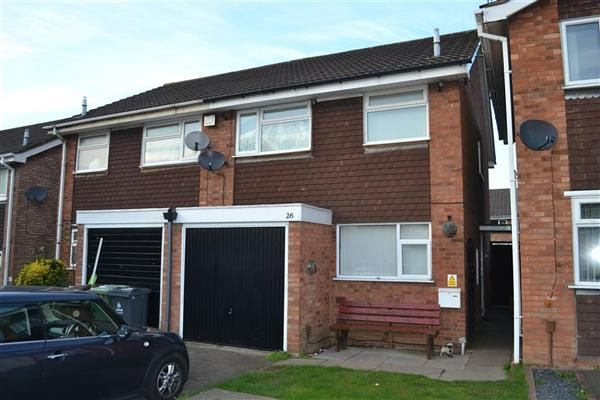 Thumbnail Semi-detached house to rent in Pommel Close, Silverdale Park, Walsall