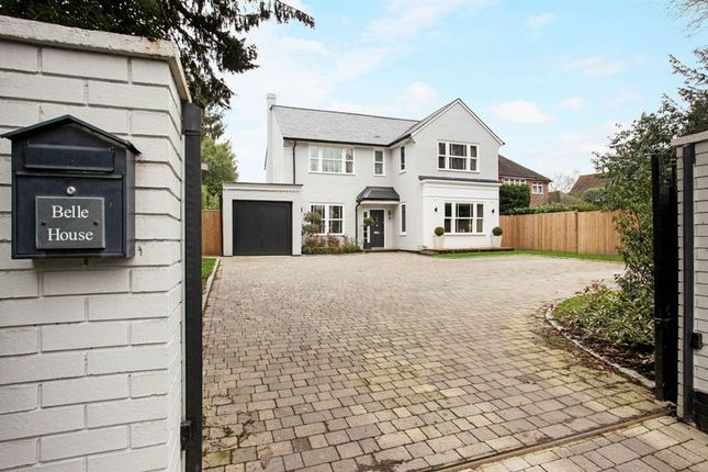 Thumbnail Detached house for sale in Middle Hill, Englefield Green, Egham