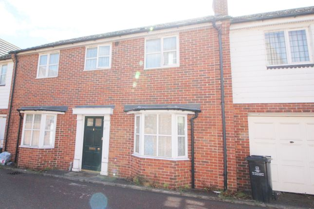 Thumbnail Terraced house to rent in Triumph Close, Colchester