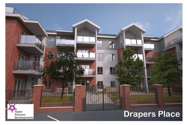 Thumbnail Block of flats for sale in Drapers Place, Spalding