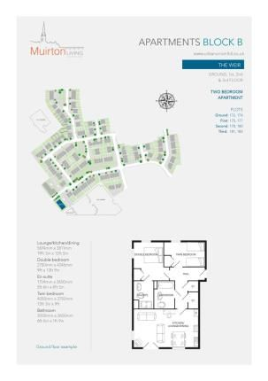 Thumbnail Flat for sale in Lapwing Drive, Perth