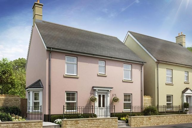 "Thumbnail Detached house for sale in ""Thame"" at Bevans Lane, Pontrhydyrun, Cwmbran"