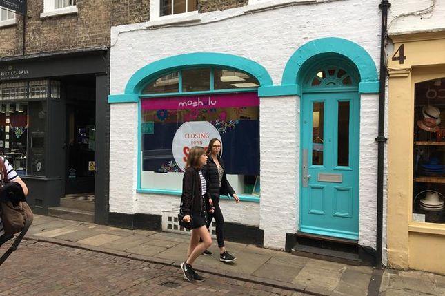 Thumbnail Retail premises to let in Green Street, Cambridge
