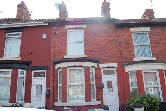 Thumbnail 2 bed terraced house to rent in Elmswood Road, Birkenhead