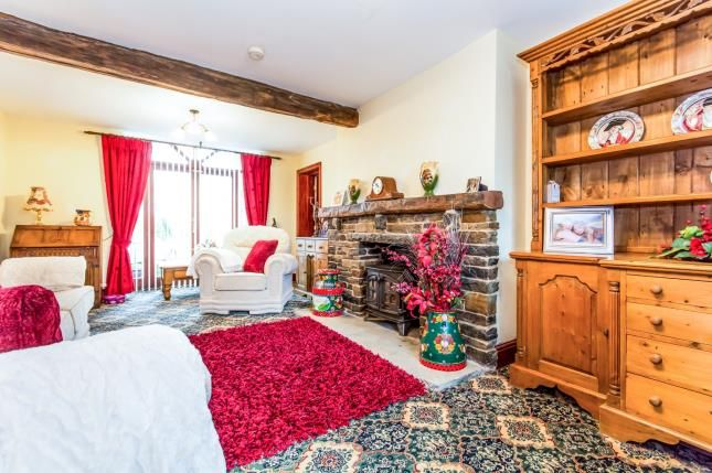 Lounge of Studd Brow, Whitworth, Rochdale, Lancashire OL12