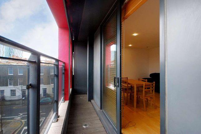 Balcony of New Wharf Road, London N1