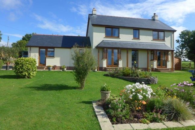 Thumbnail Detached house for sale in Gwelfor, Fishguard