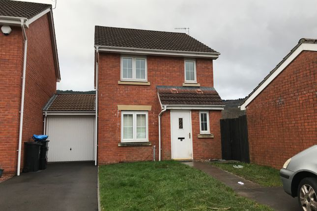 Thumbnail Detached house to rent in Anthony Hill Court, Pentrebach, Merthyr Tydfil