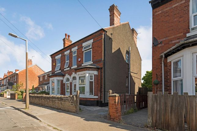 Thumbnail Semi-detached house to rent in Marlborough Road, Beeston, Nottingham