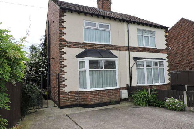 Thumbnail Semi-detached house to rent in Abbott Road, Alfreton, Derbyshire