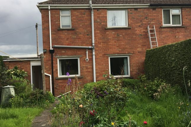 Thumbnail Semi-detached house to rent in Charles Cresent, Abergavenny