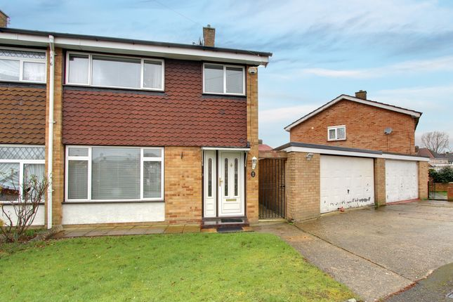 3 bed semi-detached house for sale in Hayman Crescent, Hayes