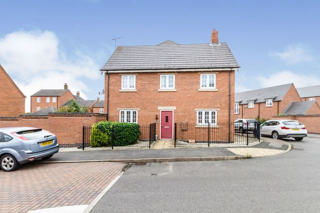 Thumbnail Semi-detached house for sale in Dairy Way, Kibworth Harcourt, Leicester