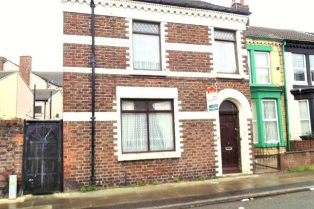 Thumbnail End terrace house to rent in Wordsworth Street, Bootle