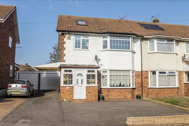 Thumbnail Semi-detached house for sale in Benenden Road, Wainscott, Rochester