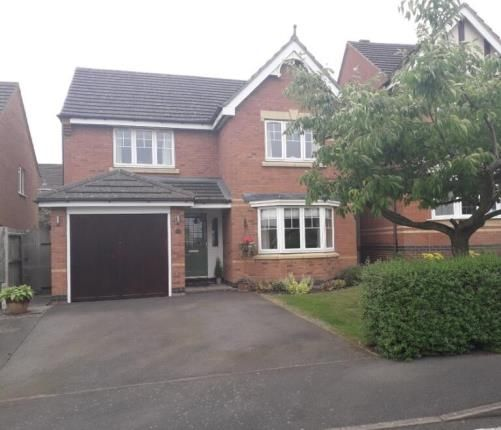 Thumbnail Detached house for sale in Fern Ley Close, Market Harborough, Leicester, Leicestershire
