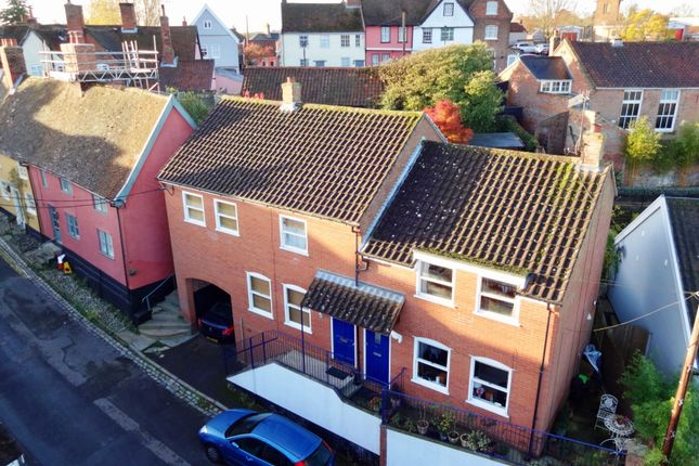 Thumbnail Town house for sale in Angel Lane, Woodbridge