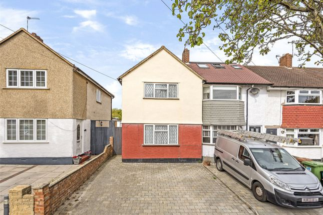 Thumbnail End terrace house for sale in Arlington Drive, Carshalton