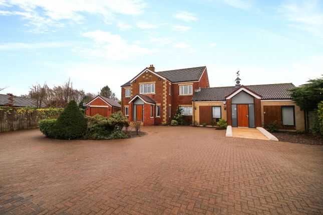 5 bed detached house for sale in Longhirst Road, Pegswood, Morpeth NE61