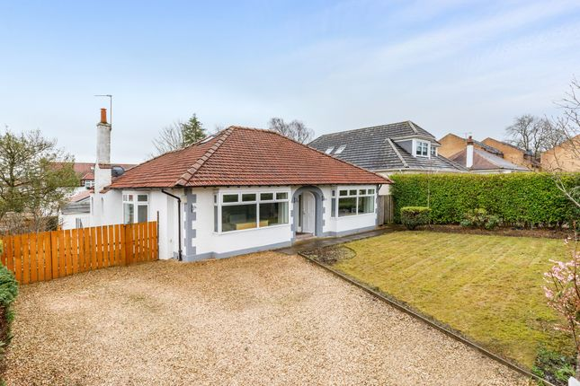 Thumbnail Detached bungalow for sale in 77 Larchfield Avenue, Newton Mearns