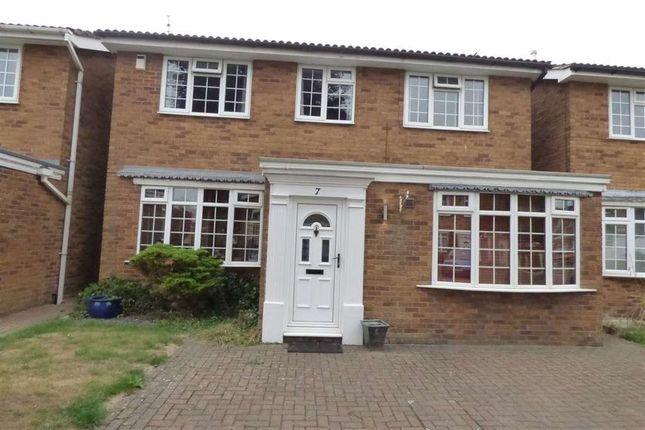Thumbnail Detached house to rent in 7 Stanhope Cl, Ws