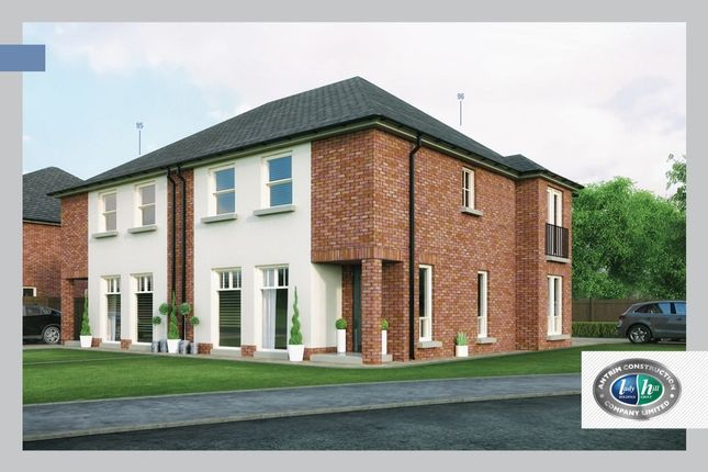 Thumbnail Semi-detached house for sale in Porter Green Place, Ballyhampton Road, Larne
