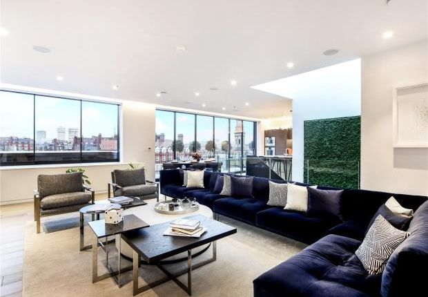 Thumbnail Flat for sale in Seymour Place, Marylebone