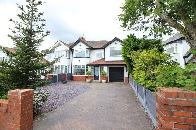 Thumbnail Semi-detached house for sale in Longsight Road, Ramsbottom, Bury