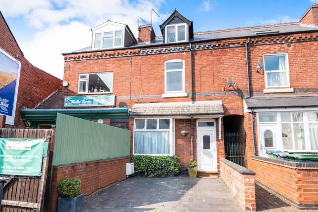 Thumbnail End terrace house for sale in Three Shires Oak Road, Smethwick, Birmingham, West Midlands