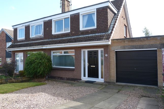 Thumbnail Semi-detached house for sale in Rannoch Place, Kinross