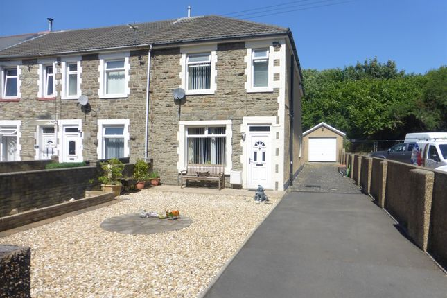 Thumbnail End terrace house for sale in Railway Terrace, Talbot Green, Pontyclun