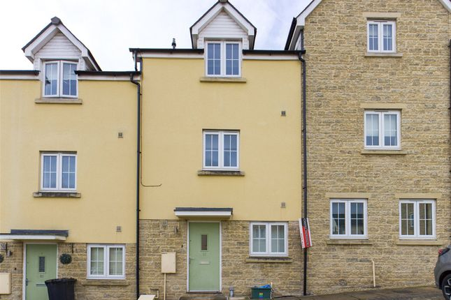 Thumbnail Town house for sale in Vicarage Drive, Mitcheldean, Gloucestershire