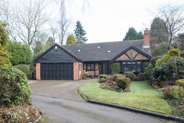 Thumbnail Detached bungalow for sale in Woodstock Drive, Off Rosemary Hill Road, Four Oaks, Sutton Coldfield
