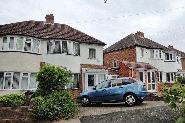 Thumbnail Semi-detached house to rent in Marsham Road, Kings Heath, Birmingham