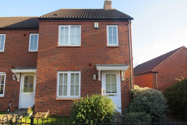 End terrace house for sale in Worthington Road, Fradley, Lichfield